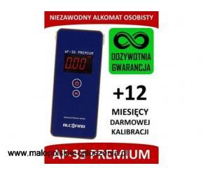 Alkomat osobisty AlcoFind PREMIUM - GWARANCJA WIECZYSTA